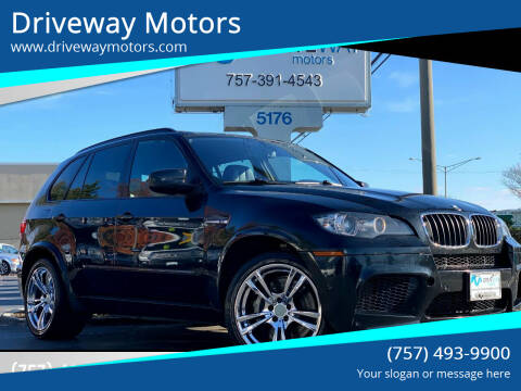 2012 BMW X5 M for sale at Driveway Motors in Virginia Beach VA