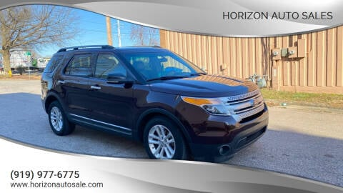 2011 Ford Explorer for sale at Horizon Auto Sales in Raleigh NC