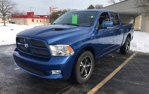 2011 RAM Ram Pickup 1500 for sale at Peak Motors in Loves Park IL