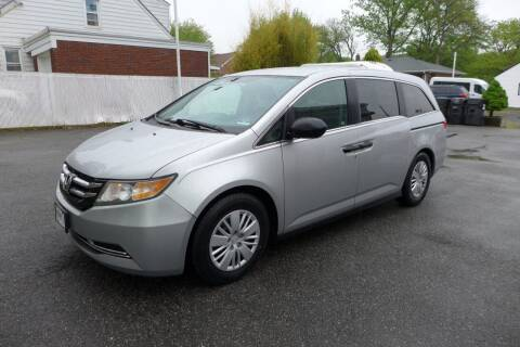 2014 Honda Odyssey for sale at FBN Auto Sales & Service in Highland Park NJ