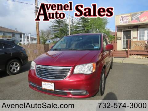 2013 Chrysler Town and Country for sale at Avenel Auto Sales in Avenel NJ