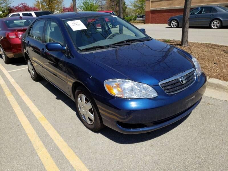 2007 Toyota Corolla for sale at 355 North Auto in Lombard IL
