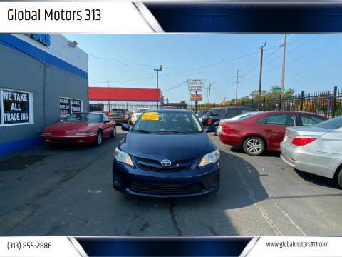 2011 Toyota Corolla for sale at Global Motors 313 in Detroit MI