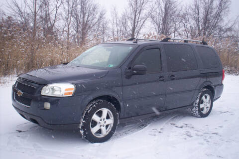 2008 Chevrolet Uplander for sale at Action Auto Wholesale - 30521 Euclid Ave. in Willowick OH