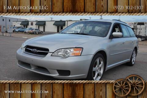 2006 Subaru Legacy for sale at F.M Auto Sale LLC in Dallas TX