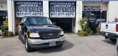 2001 Ford F-150 for sale at Affordable Imports Auto Sales in Murrieta CA