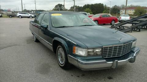 1994 Cadillac Fleetwood for sale at Kelly & Kelly Supermarket of Cars in Fayetteville NC