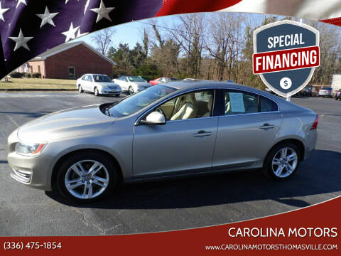 2015 Volvo S60 for sale at CAROLINA MOTORS in Thomasville NC