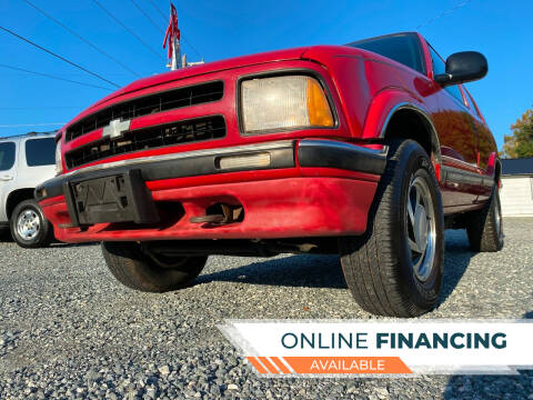 1997 Chevrolet Blazer for sale at Prime One Inc in Walkertown NC