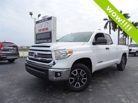 2017 Toyota Tundra for sale at Port Motors in West Palm Beach FL