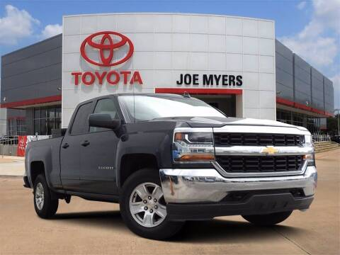2018 Chevrolet Silverado 1500 for sale at Joe Myers Toyota PreOwned in Houston TX