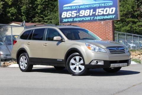 2010 Subaru Outback for sale at Skyline Motors in Louisville TN