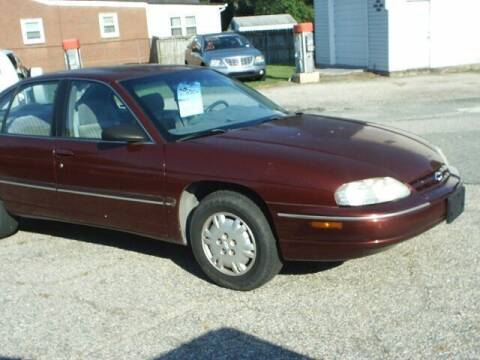 2001 Chevrolet Lumina for sale at Wamsley's Auto Sales in Colonial Heights VA