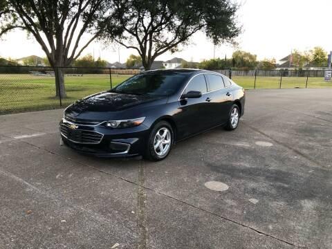 2017 Chevrolet Malibu for sale at Orange Auto Sales in Houston TX