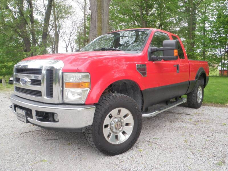 2008 Ford F-250 Super Duty for sale at Kenny Vice Ford Sales Inc - USED Vehicle Inventory in Ladoga IN