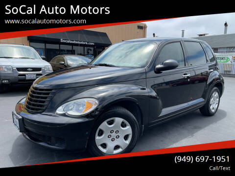 2008 Chrysler PT Cruiser for sale at SoCal Auto Motors in Costa Mesa CA