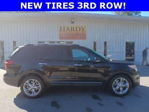 2014 Ford Explorer for sale at Hardy Auto Resales in Dallas GA