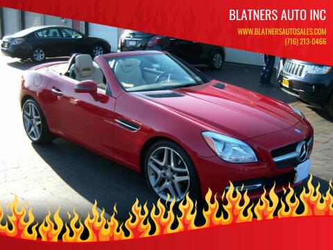 2014 Mercedes-Benz SLK for sale at Blatners Auto Inc in North Tonawanda NY
