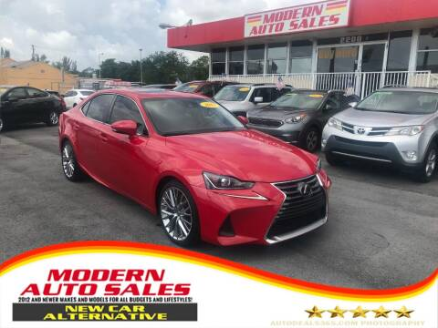 2017 Lexus IS 200t for sale at Modern Auto Sales in Hollywood FL