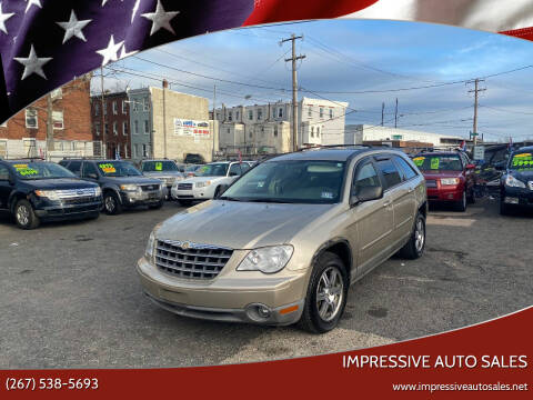 2008 Chrysler Pacifica for sale at Impressive Auto Sales in Philadelphia PA