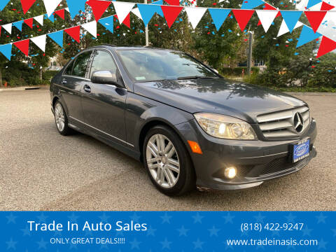 2008 Mercedes-Benz C-Class for sale at Trade In Auto Sales in Van Nuys CA