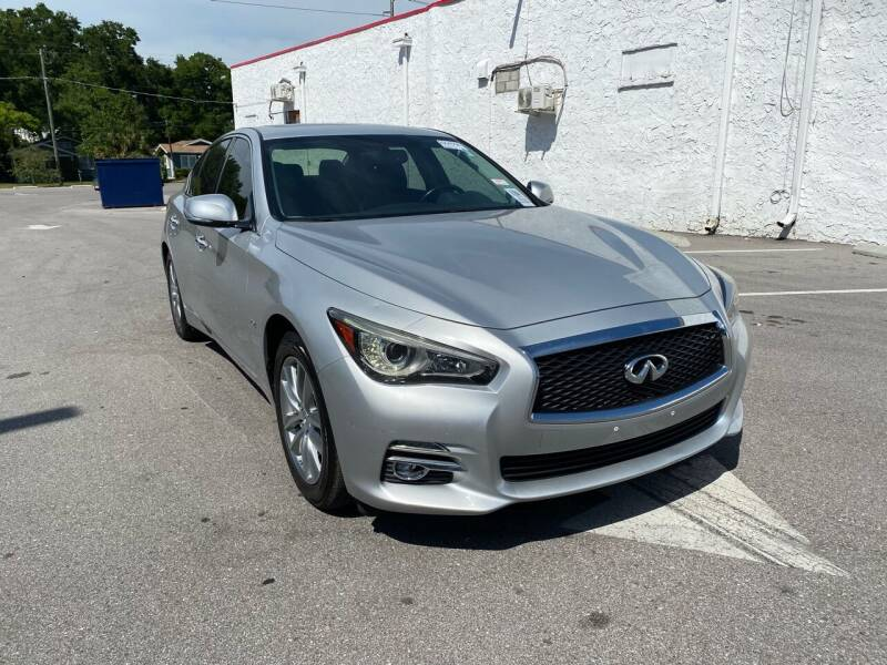 2016 Infiniti Q50 for sale at LUXURY AUTO MALL in Tampa FL