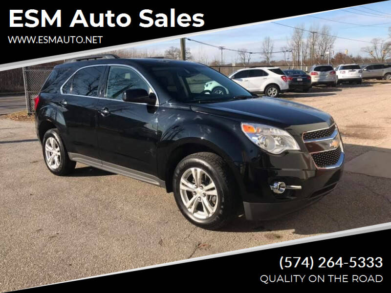 2013 Chevrolet Equinox for sale at ESM Auto Sales in Elkhart IN