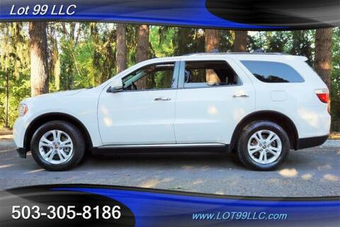 2013 Dodge Durango for sale at LOT 99 LLC in Milwaukie OR