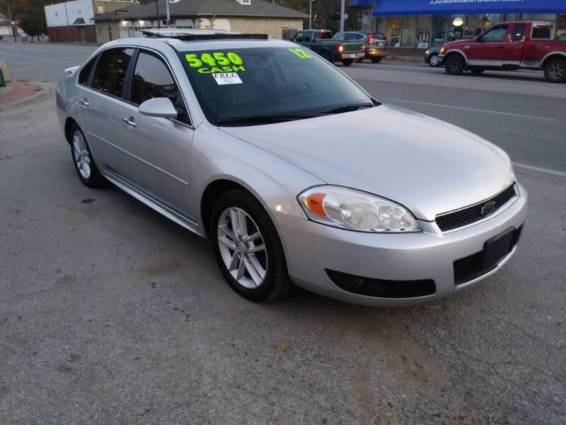 2012 Chevrolet Impala for sale at Street Side Auto Sales in Independence MO