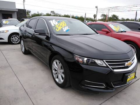 2016 Chevrolet Impala for sale at A & V MOTORS in Hidalgo TX