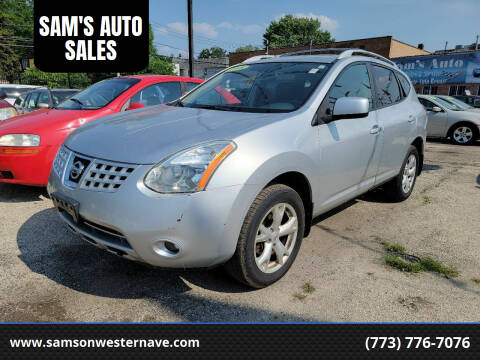 2008 Nissan Rogue for sale at SAM'S AUTO SALES in Chicago IL