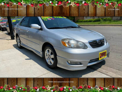 2007 Toyota Corolla for sale at 6 STARS AUTO SALES INC in Chicago IL