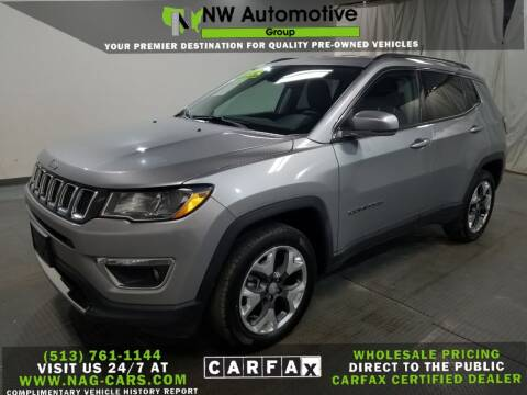 2019 Jeep Compass for sale at NW Automotive Group in Cincinnati OH
