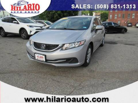 2015 Honda Civic for sale at Hilario's Auto Sales in Worcester MA