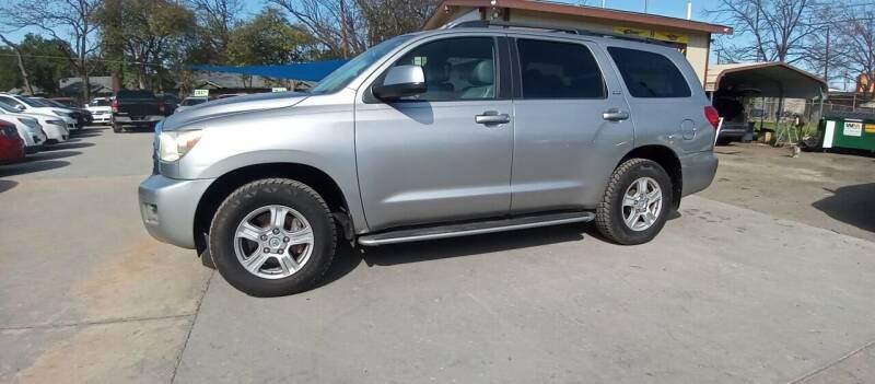 2008 Toyota Sequoia for sale at AUTOTEX FINANCIAL in San Antonio TX