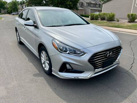2019 Hyundai Sonata for sale at Red Rock's Autos in Denver CO