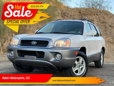 2004 Hyundai Santa Fe for sale at Baba's Motorsports, LLC in Phoenix AZ