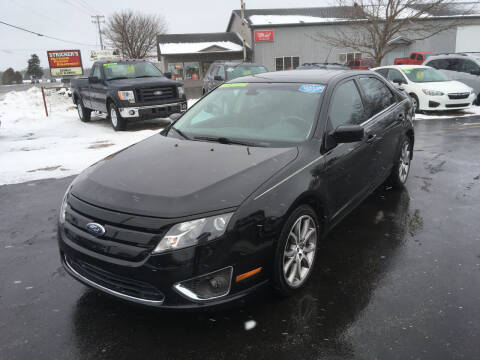 2012 Ford Fusion for sale at JACK'S AUTO SALES in Traverse City MI