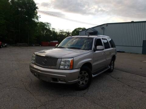 2004 Cadillac Escalade for sale at Granite Auto Sales in Spofford NH