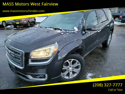 2013 GMC Acadia for sale at M.A.S.S. Motors - West Fairview in Boise ID