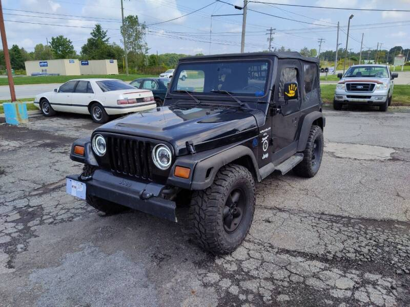 1997 Jeep Wrangler for sale at RIDE NOW AUTO SALES INC in Medina OH