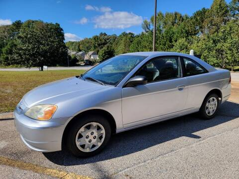 2003 Honda Civic for sale at WIGGLES AUTO SALES INC in Mableton GA