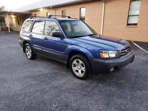 2004 Subaru Forester for sale at Wheel Tech Motor Vehicle Sales in Maylene AL
