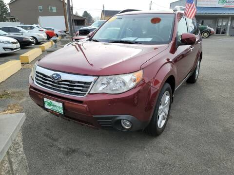 2009 Subaru Forester for sale at Artistic Auto Group, LLC in Kennewick WA