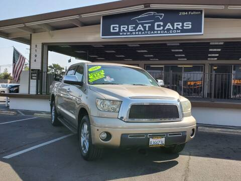2007 Toyota Tundra for sale at Great Cars in Sacramento CA