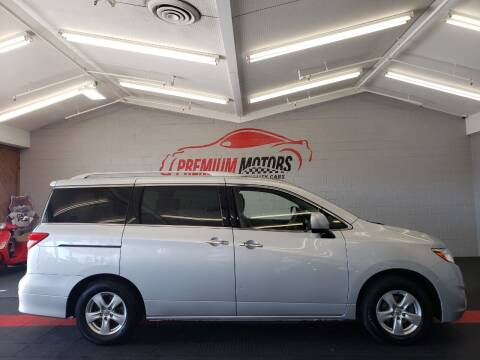 2017 Nissan Quest for sale at Premium Motors in Villa Park IL