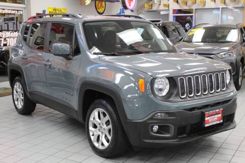 2018 Jeep Renegade for sale at Windy City Motors in Chicago IL