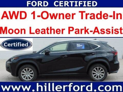 2019 Lexus NX 300 for sale at HILLER FORD INC in Franklin WI