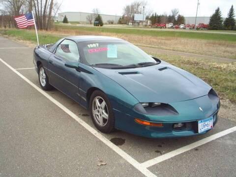 1997 Chevrolet Camaro for sale at Dales Auto Sales in Hutchinson MN