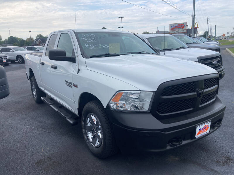 2015 RAM Ram Pickup 1500 for sale at McCully's Automotive - Trucks & SUV's in Benton KY
